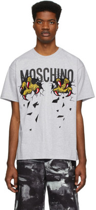 Moschino Grey Monster Hands T-Shirt