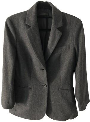 The Row Grey Wool Jackets