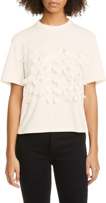 PASKAL clothes Laser Cut Butterfly T-Shirt