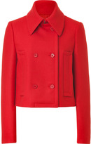Michael Kors Crimson Virgin Wool Short Jacket