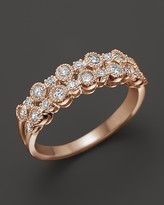 Bloomingdale's Diamond Band in 14K Rose Gold, .50 ct. t.w.
