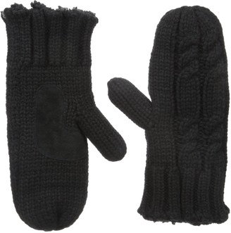 Isotoner Women's Cable Knit Mitten