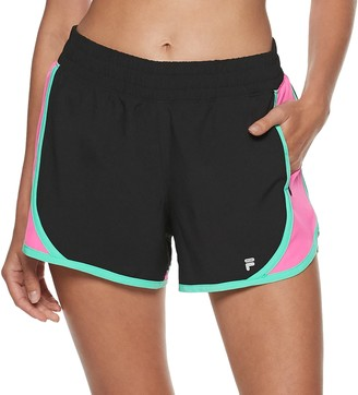 Fila Sport Women's SPORT Woven Piecing Shorts