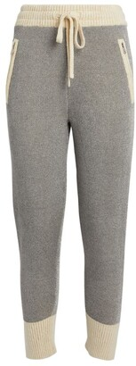 3.1 Phillip Lim Two-Tone Knitted Sweatpants