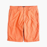 "J.Crew 10.5"" Solid Oxford Short In Ripe Orange"