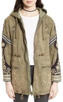 Free People Women's Golden Quills Cargo Jacket
