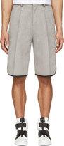 John Lawrence Sullivan Johnlawrencesullivan Grey Tailored Basketball Shorts