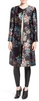 Ted Baker Women's 'Antique Botanical' Floral Print Coat