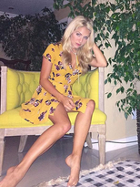 West Coast Wardrobe Inspired Muse Dress in Mustard