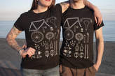 Angela Chick Unisex Cycling T Shirt