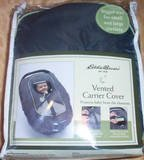 Gold Bug Eddie Bauer Vented Carrier Cover- Charcoal w/ Green Trim