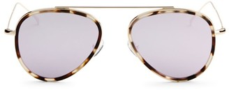 Illesteva Dorchester Ace 52MM Aviator Sunglasses