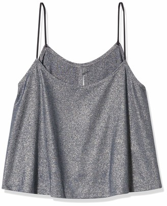 Only Hearts Women's Metallic Jersey Flare Cami