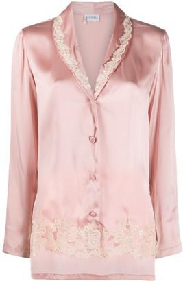 La Perla Frastaglio Silk Pajamas