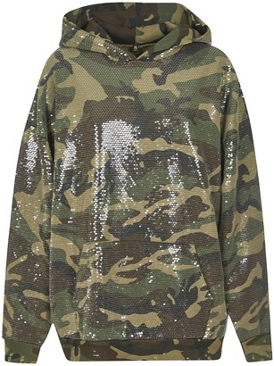R 13 All-over Embellished Hoodie