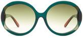 Missoni Women&s Oversized Oval Glam Sunglasses