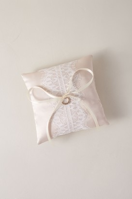Handmade For Brides Lace Ring Bearer Pillow