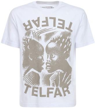 Telfar The Bomb Print Cotton T-Shirt