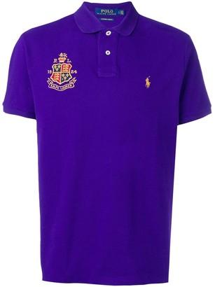 Polo Ralph Lauren crest logo polo shirt
