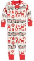 Hanna Andersson Organic Cotton Romper Pajamas