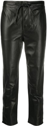 RtA Straight Leg Cropped Trousers