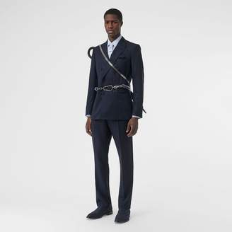 Burberry English Fit Birdseye Wool Cashmere Suit