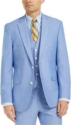 Tommy Hilfiger Men Modern-Fit Th Flex Stretch Chambray Suit Jacket