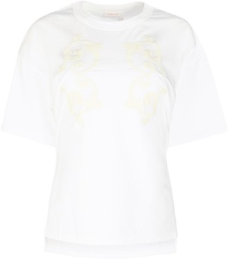 See by Chloe Embroidered Crewneck T-Shirt