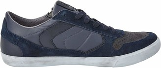 Geox Men's U Box C Low-Top Sneakers Blue (Navy/Dark Grey) 10.5 UK 10.5 UK