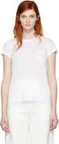 Sacai White Dot Lace T-Shirt