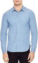 Sandro Fader Slim Fit Denim Button-Down Shirt