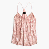 J.Crew Collection Carrie cami in sequins