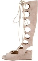 Chloé Suede Gladiator Sandals