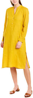 Ro's Garden Linen Midi Dress