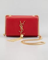 Saint Laurent Cassandre Small Tassel Crossbody Bag, Red