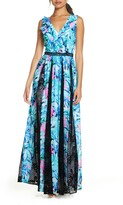 Lilly Pulitzer R) Janette Fit & Flare Maxi Dress