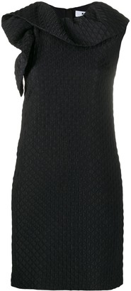 MSGM Quilted Mini Dress