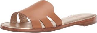 Marc Joseph New York Women's Leather Made in Brazil Slide Sandal