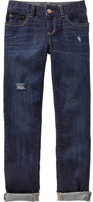 Old Navy Girls Distressed Skinny Jeans