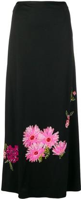 A.N.G.E.L.O. Vintage Cult 1960's Floral Embellished Skirt