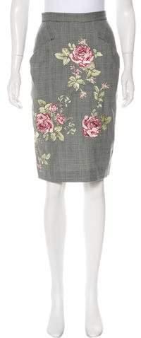 Alexander McQueen Vintage Pencil Skirt