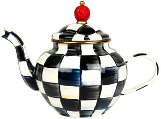 Mackenzie Childs MacKenzie-Childs Courtly Check Teapot