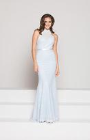 Colors Dress - 1869 High Halter Lace Trumpet Gown