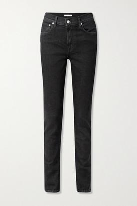 Helmut Lang High-rise Skinny Jeans - Black