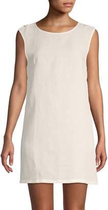 Onia Sleeveless Cover-Up Shift Dress