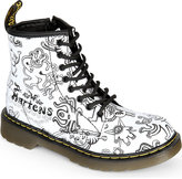 Dr Martens Brooklee Illustrated Leather Boots 2-5 Years