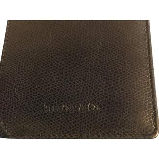 Tiffany & Co. \N Black Leather Purses, wallets & cases