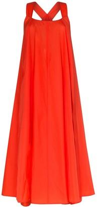 Issey Miyake Sleeveless Balloon Maxi Dress