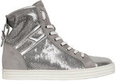Hogan 50mm Sequined Suede Sneakers