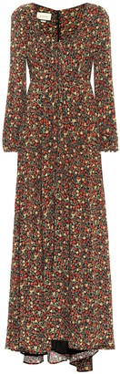 Gucci x Liberty floral crepe gown